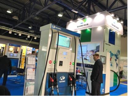 La marque Sanki comme marque de base de l'industrie de l'équipement de station-service en Chine, a participé à cette exposition pour le 11ème fois